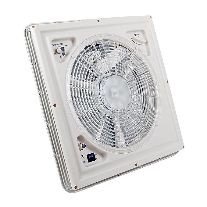 Amazon.com: Fiamma Turbo Vent Crystal 40 x 40 Crank Roof Hood Polar Control With Thermostat For Caravan Or Motorhome: Automotive