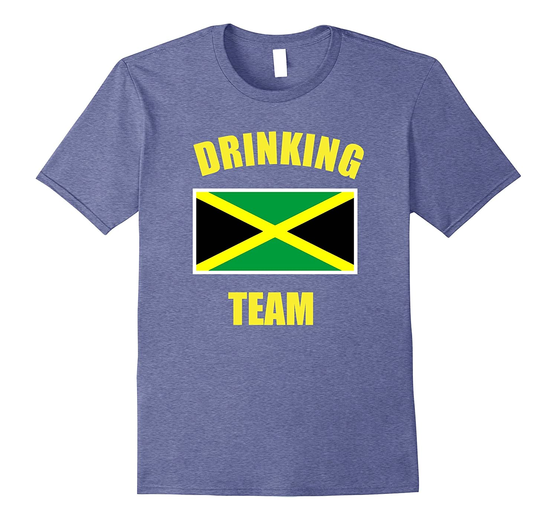 Jamaica Drinking Team Shirt Country Drunk Alcohol Tee-ANZ