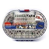 WORKPRO 276-teilig Drehwerkzeug Zubehör Einsatz Satz Polier Kits, einfache Schneiden, Schneiden und Polieren