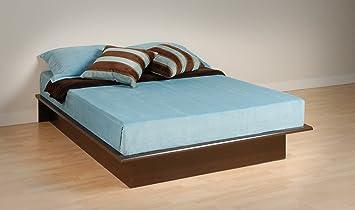 espresso queen platform bed - Queen Platform Bed Frames