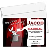 talking tables magic party paper party invitations for a birthday