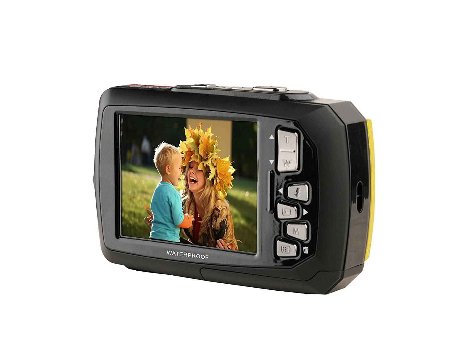 Amazon.com : Coleman Duo2 2V9WP-O 20 MP Waterproof Digital Camera with Dual LCD Screen (Orange)