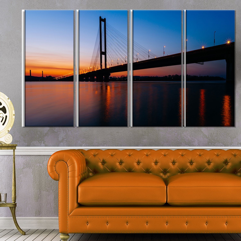 Designart MT11692-401 Metal Wall Art 28 H/x/60 W/x/1 D 5PE