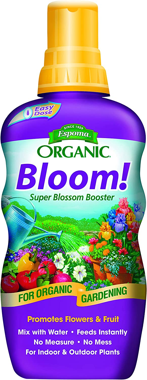 Espoma Bloom! Liquid Plant Food, Natural & Organic Super Blossom Booster, 18 fl oz, Pack of 2