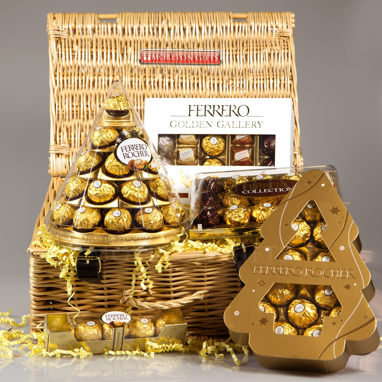 Ferrero Rocher Chocolates In Tree Box