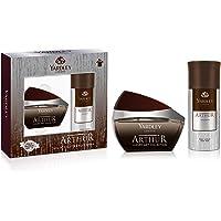 Yardley Arthur Perfumed Gift set For Men, classic aromatic refreshing scent, formal fragrance, EDT 100ml + Body Spray…