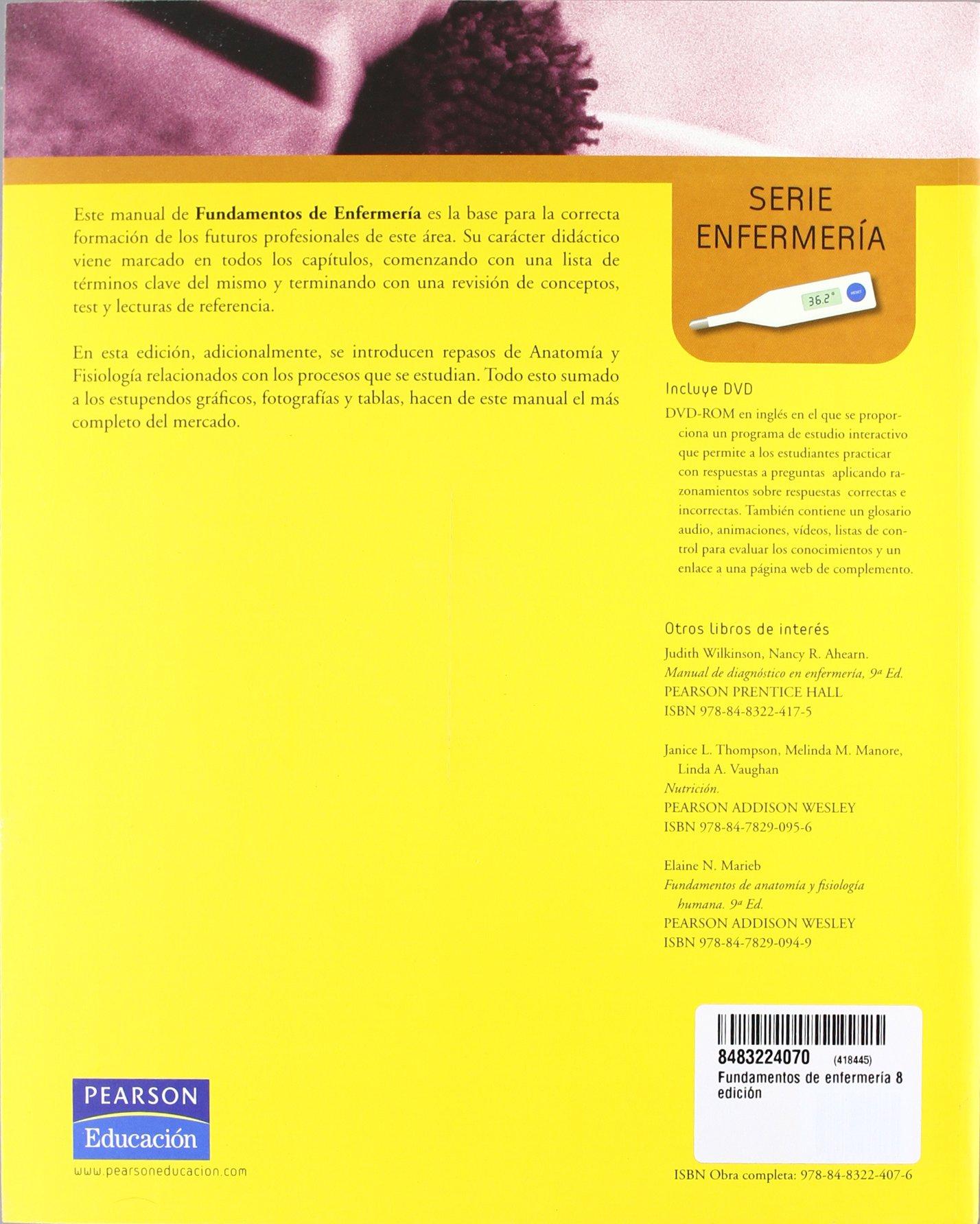 Fundamentos De Enfermeria - 2 Tomos - CON DVD (Perfect Paperback ...