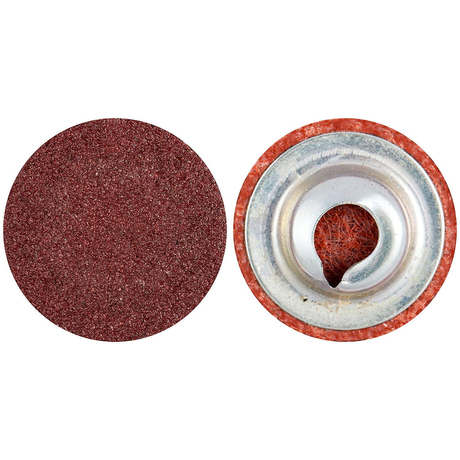 {Clearance} 100 -PK Norton Merit A/O TP Cloth Quick-Change Disc 2 in 80 // 69957399778