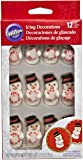 Wilton 710-0119 Snowman Stripe Mint Decoration