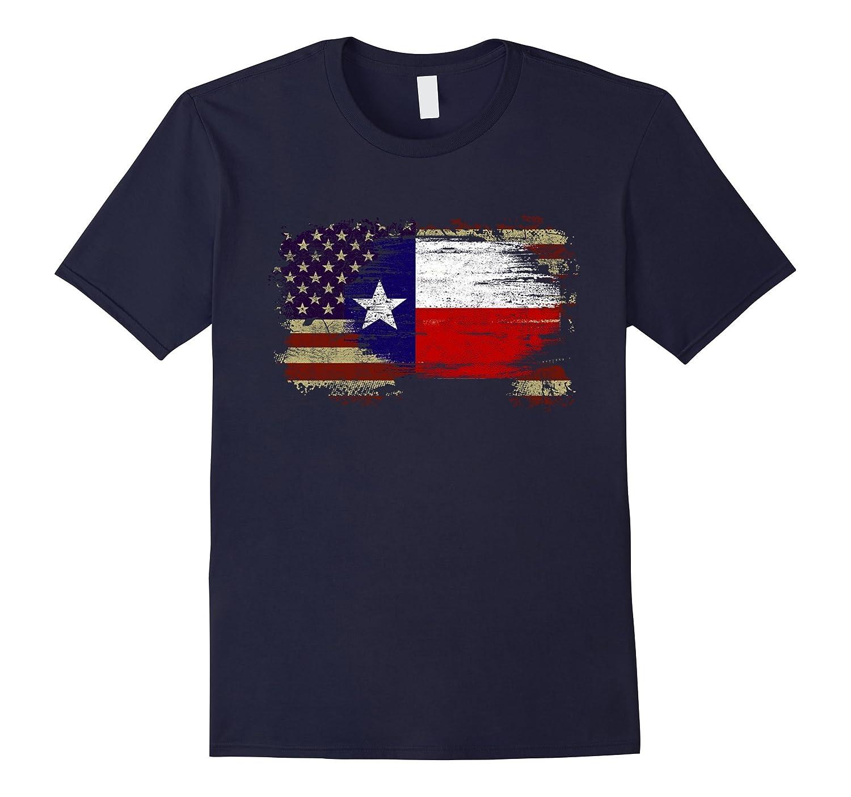 America Texas Flag Shirts-TD