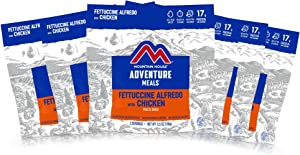 Mountain House Fettuccine Alfredo with Chicken | Freeze Dried Backpacking & Camping Food | Survival & Emergency Food