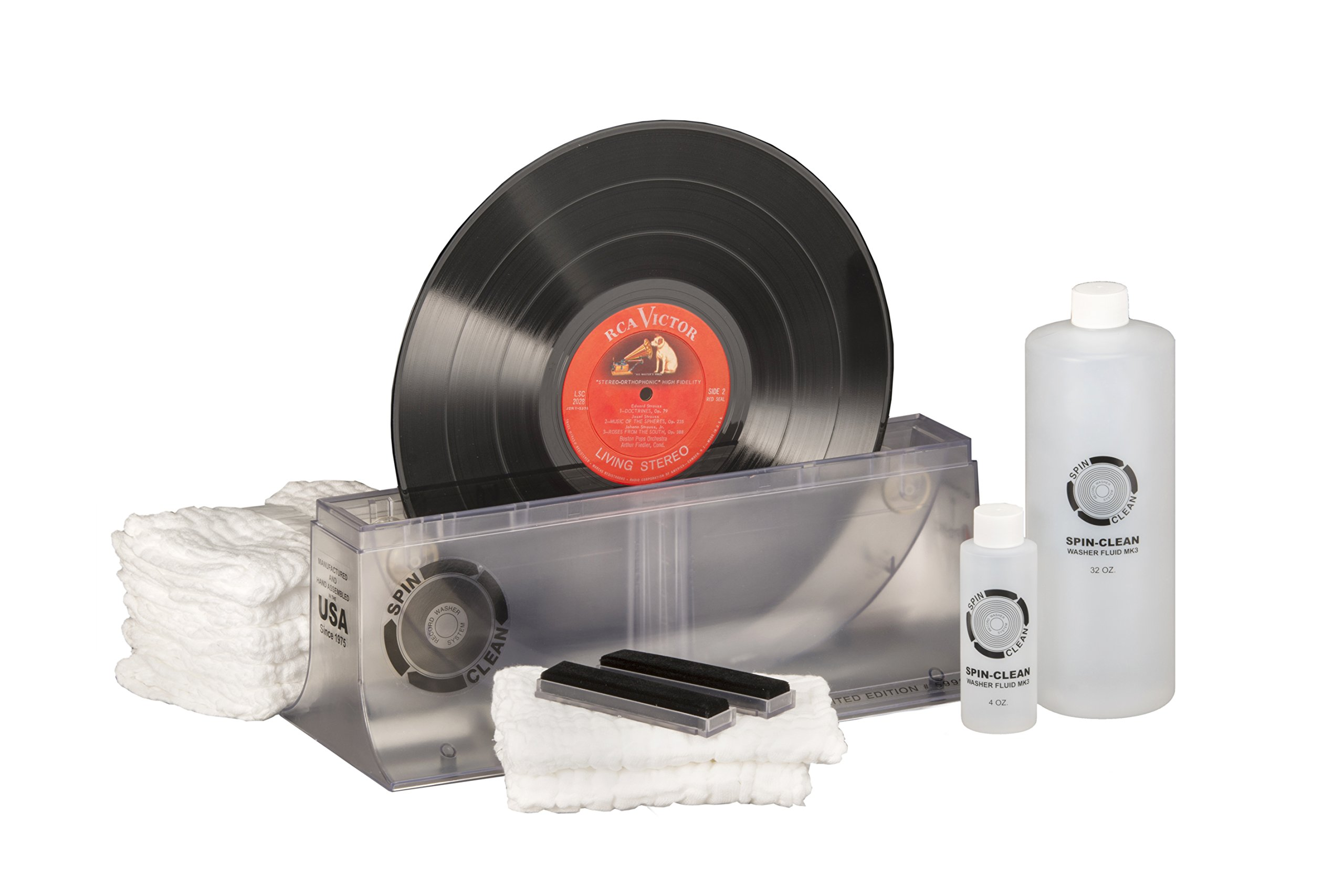 Limited-Edition Clear Spin-Clean Record Washer MKII Kit
