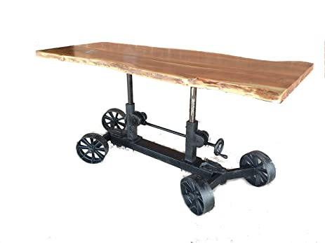 Ordinaire 86 034 Industrial Crank Table Legs Adjustable Base