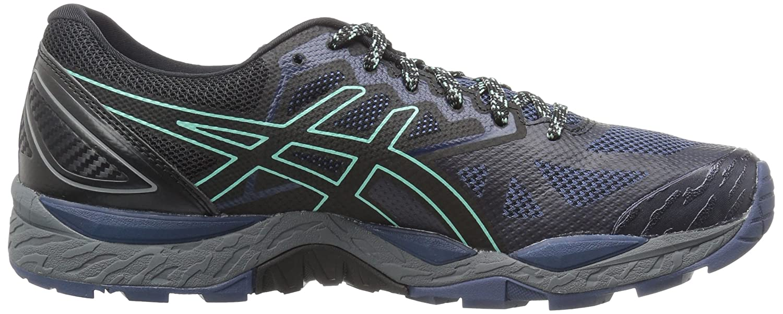 ASICS Women's Gel-Fujitrabuco 6 Running Shoe B01MQGGL7E 7 B(M) US|Insignia Blue/Black/Ice Green