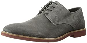 Kenneth Cole Unlisted Men's In Good Part Oxford, Dark Grey, 12 M US