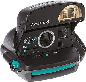 Polaroid Originals POL004710 - Cámara Redonda 600, Color Negro y Gris