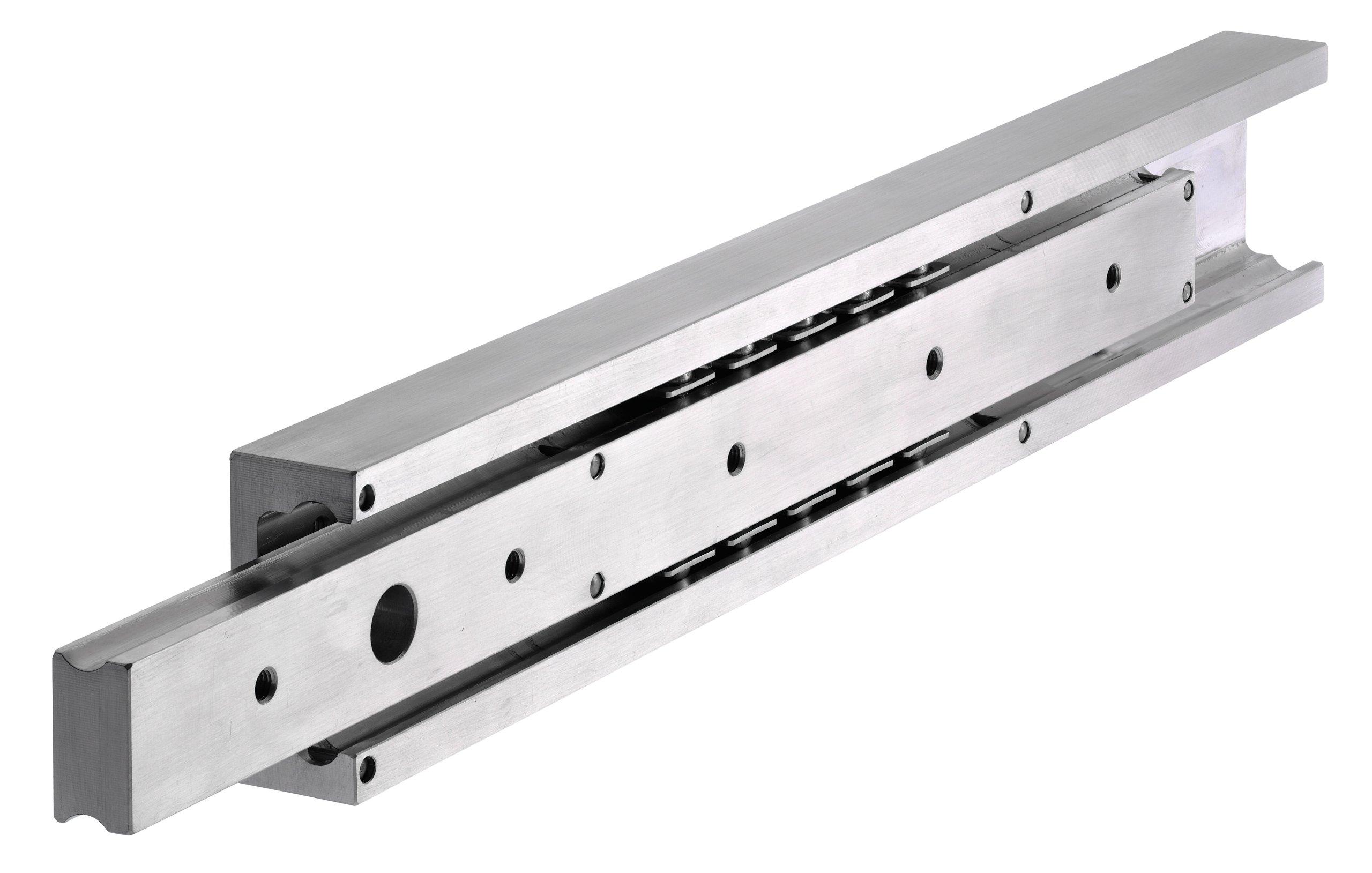 Slide rail DA 4120 (single rail) slide length 400mm aluminium