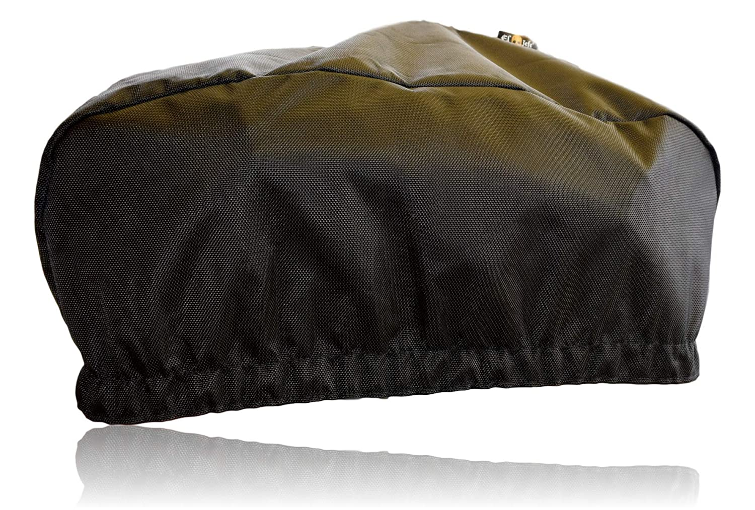 EL JEFE Heavy Duty Waterproof Winch Cover   Dust-Proof, UV & Mildew-Resistant Winch Protection Cover W/Sewn-in Elastic Band   Ideal for SUV Winches Up to 17500 Lbs   24' W x 10' H x 7' D