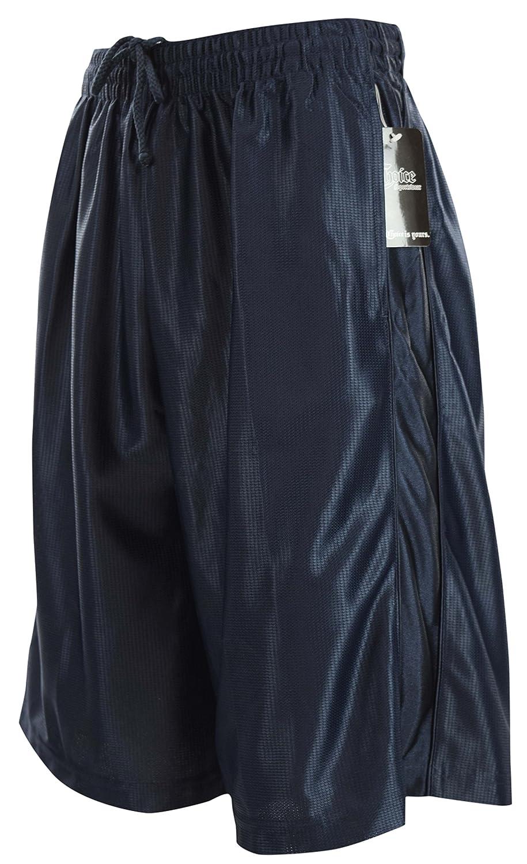 ChoiceApparel Herren Basketball-Shorts mit Taschen und Kordelzug