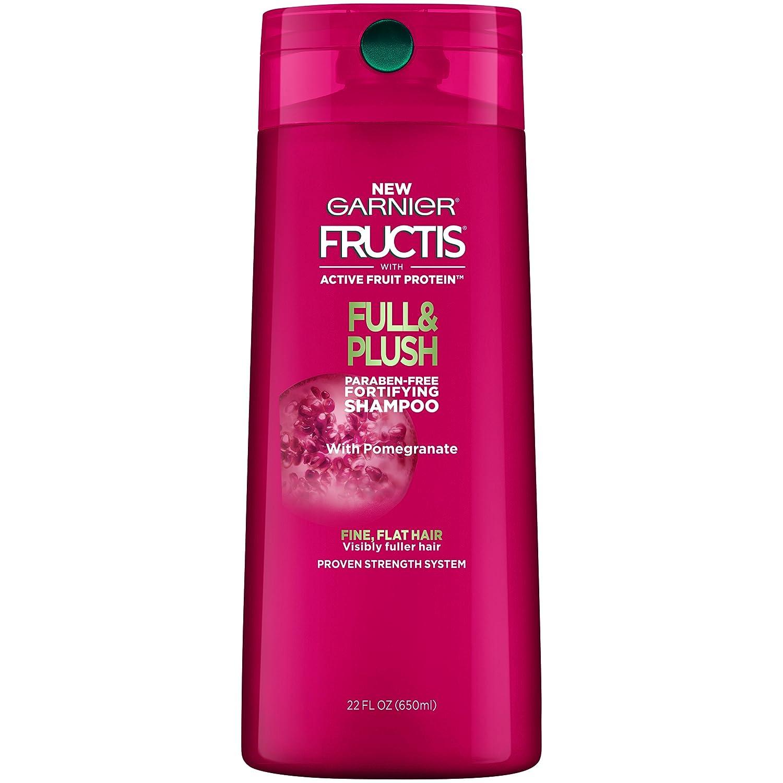 Garnier Hair Care Fructis Full & Plush Shampoo, 22 Fluid Ounce