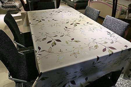 Fancy fix kitchen table linens vinyl green leaves rectangular fancy fix kitchen table linens vinyl green leaves rectangular waterproof tablecloth 54 x 78 workwithnaturefo