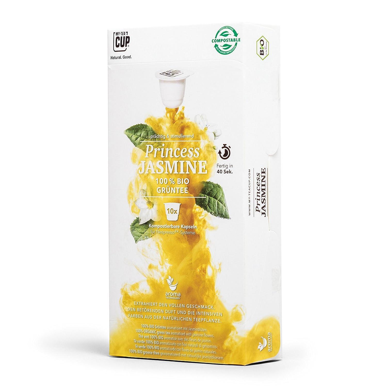 4 X 10 Organic Tea Capsules Nespresso Compatible Green Tea Box 40