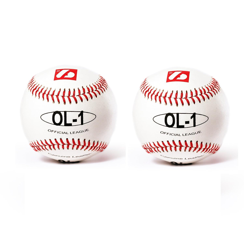 OL-1 barnett, palla da baseball competizione, 9'', bianco, 2 pz 9''
