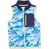 Amazon Essentials boys Polar Fleece Color-Blocked Vests Fleece Vest