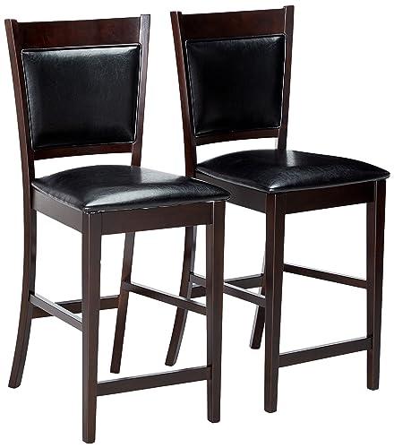 Flash Furniture HERCULES Series 8 x 40 Rectangular Antique Rustic Solid Pine Folding Farm Table