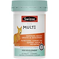 Swisse Kids Multi 60 Tablets, Banana
