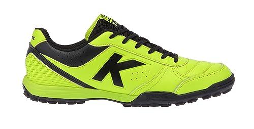 Kelme - Zapatillas de fútbol Sala de Material Sintético para Hombre Lime Black: Amazon.es: Zapatos y complementos