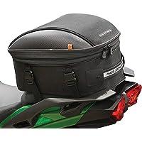 Nelson Rigg CL-1060-ST2 Black Commuter Tour Motocicleta Tail/Seat Bag