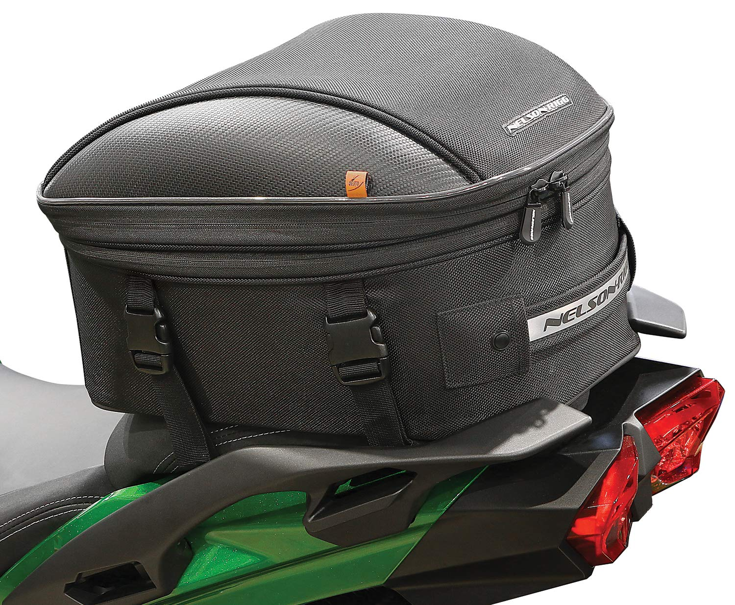 Nelson Rigg CL-1060-ST2 Black Commuter Tour Motorcycle Tail/Seat Bag by Nelson-Rigg