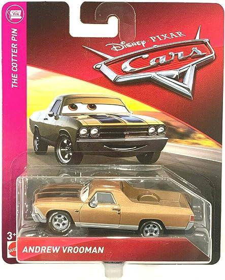 Disney Cars Andrew Vrooman 1:55 Scale Diecast