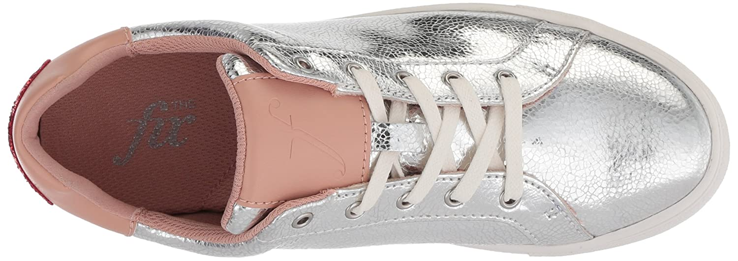 The Fix Women's Tailor Heart Lace-up Fashion Sneaker B078FBVH2G 11 B(M) US|Silver Crackle Leather