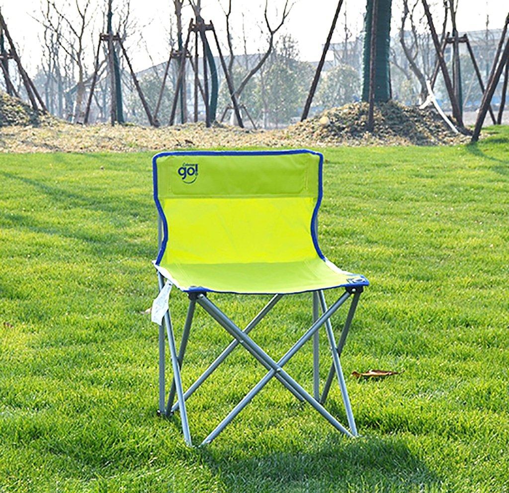 Camping klappstuhl Outdoor-Sitz Leichte, langlebige Outdoor-Sitz klappstuhl - Perfekt für Camping, Festivals, Garten, Caravan Trips, Angeln, Strand, BBQs ( Farbe   2 ) 6b768d