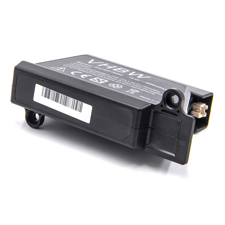 vhbw Li-Ion batería 3000mAh (14.4V) para robot limpiasuelos robot autónomo de limpieza LG Hom-Bot VR6171LVM, VR6260, VR62601LV, VR62601LVM, ...