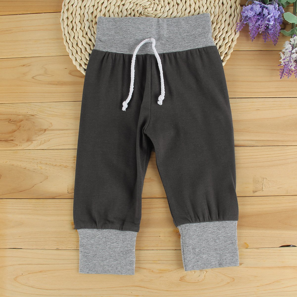 Puseky Baby Boys Grils Striped Hooded Sweatshirt /& Pants Tracksuit Outfits Set 18-24 Months, Grey