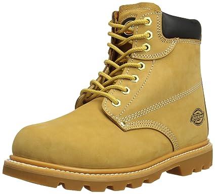 1b3e91f5fa5 Amazon.com: Dickies Unisex Cleveland Super Steel Toe-cap Safety Boot ...