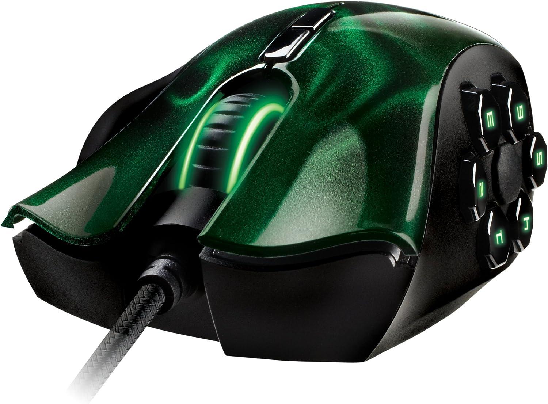 Razer Naga Hex – Ratón ergonómico para MOBA (hasta 5,600 dpi, 11 ...
