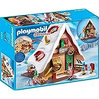 PLAYMOBIL 9493 Spielzeug-Weihnachtsbäckerei mit Plätzchenformen, Unisex-Kinder