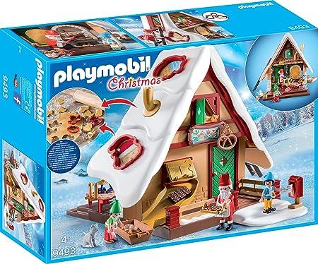 Playmobil Weihnachten.Playmobil Christmas 9493 Weihnachtsbackerei Mit Platzchenformen Ab 4 Jahren