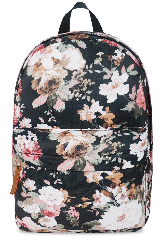 5b39de24b66a Vintage flower print backpack fenix toulouse handball jpg 1000x1500 Vintage  floral backpack