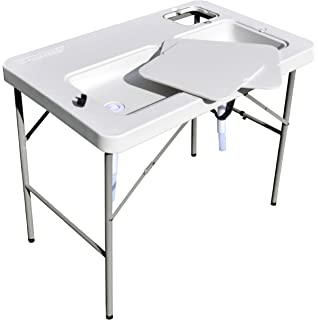 Coldcreek Outfitters Ultimate Outdoor Work Station (Gray, 33X40X26 Inch)