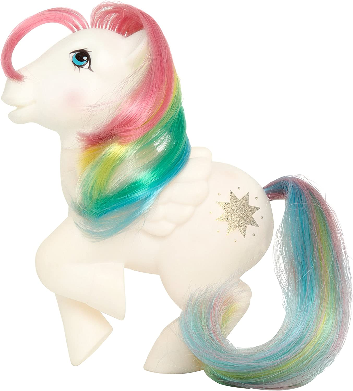 Amazon Com Basic Fun My Little Pony Rainbow Collection Starshine Toys Games