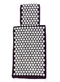 White Lotus Anti Aging L'oreiller et tapis d'acupression Euro Lotus Blanc –Gagnant de la 1re place des meilleurs tapis d'acupression sur Vergleich.org 2016- Le premier tapis d'acupression – Les seuls oreillers et tapis fabriqués en Europe selon les normes UE avec mousse à mémoire de forme, sans colle ni teintures allergéniques. CONÇUS PAR DES ACUPUNCTEURS EN EXERCICE