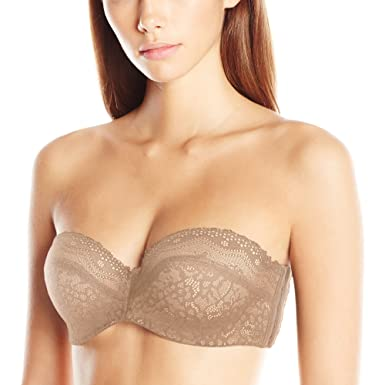 Image result for b.tempt'd by Wacoal Women's B.Enticing Strapless Bra