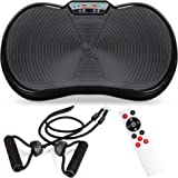 Best Choice Products Vibration Plate Exercise Machine Full Body Fitness Platform for Weight Loss & Toning w/Resistance Bands,