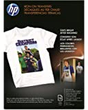 HP Iron-On Transfers, 8.5 x 11 Inch, 12 Pack