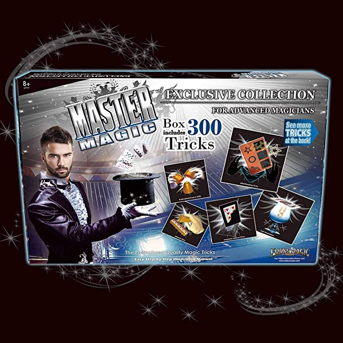 Edddy's Magic Master Magic Exclusive Collection with 300 Tricks